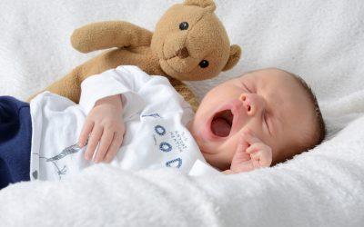 Trouble du sommeil chez bébé et ostéopathie